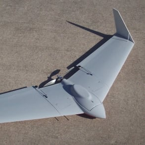 Boomerang electric UAV