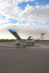 After 14 Nights in the Air, QinetiQ Prepares to Land its Zephyr Solar Powered Unmanned Aircraft