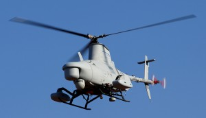 COBRA system flight trials on RQ-8A Firescout