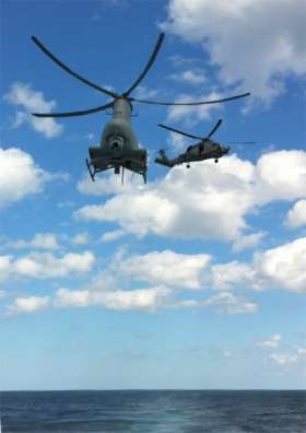 Navy helicopter squadron with manned, unmanned aircraft established in NAS North Island ceremony