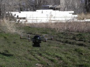 Hexacopter that detects motion and breathing