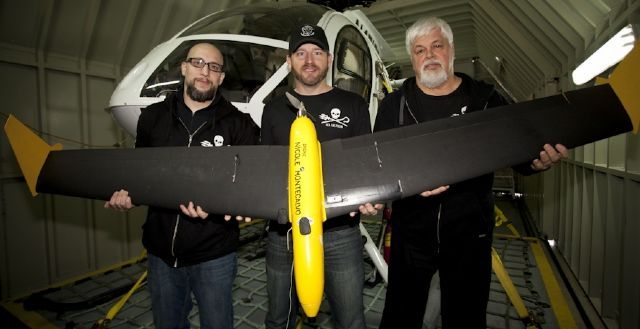 The Sea Shepherd Drone