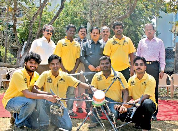 MIT team off to US to take part in UAVs contest