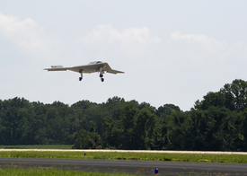 Northrop Grumman, U.S. Navy Conduct First East Coast Flight of X-47B UAS
