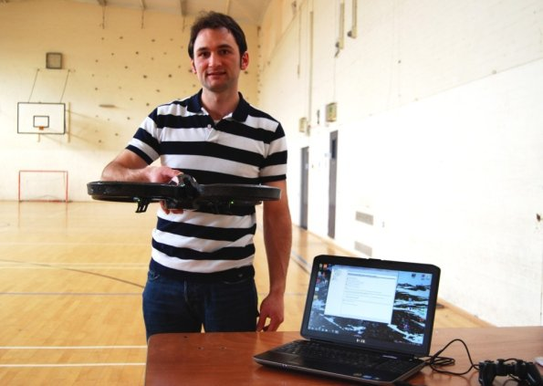 Student designs unmanned aircraft for farmers at Shropshire university