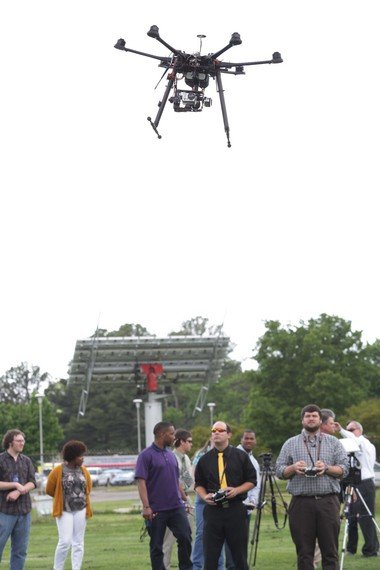 UAH unveils drone to aid police with campus safety