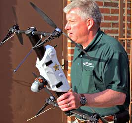 Drone aircraft help Grand Forks police fight crime