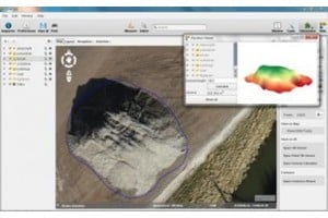 UAS photogrammetric software upgrade 90% faster