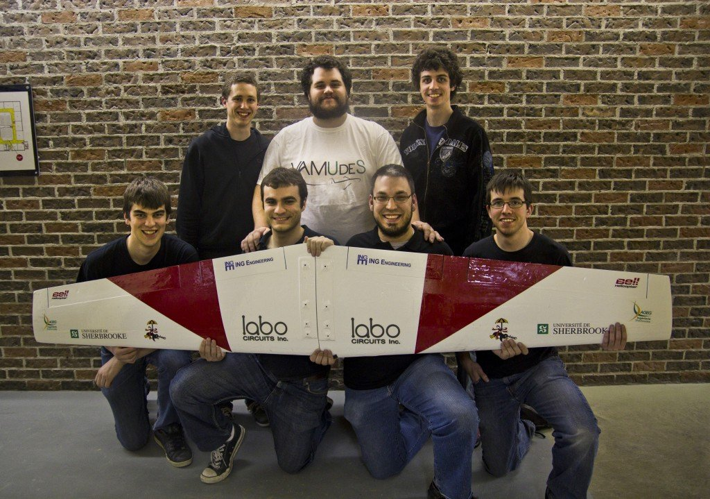 ING Robotic Aviation congratulates Université de Sherbrooke robotics team