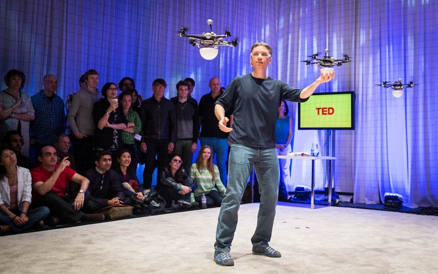 Athletic machines: Raffaello D'Andrea at TEDGlobal 2013 - sUAS News - The Business of Drones