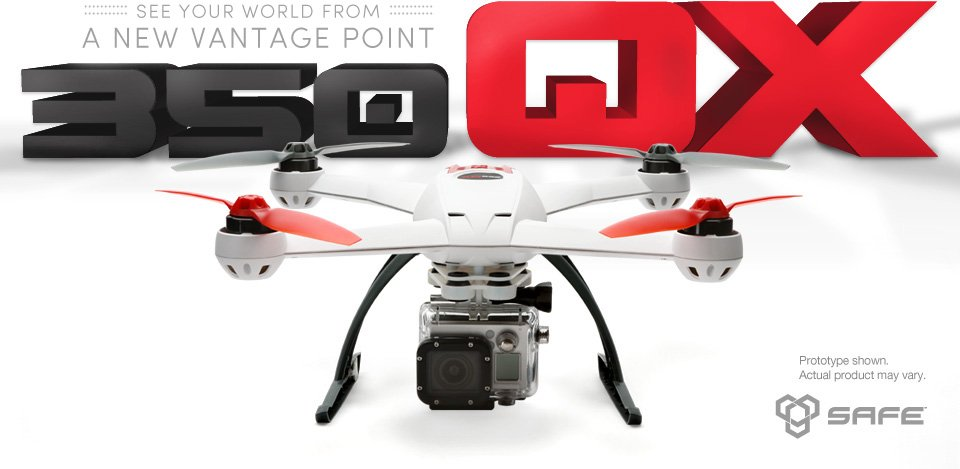 Horizon Hobby 350 QX, GoPro quadcopter - sUAS News - The