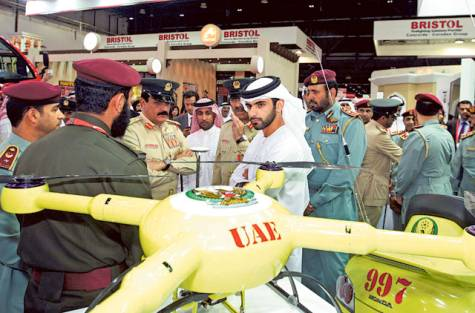 Dubai turns to drones for firefighting - sUAS News - The Business of Drones