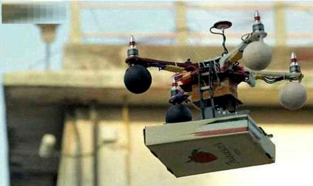 pizza delivery by drone in mumbai with Mumbai Police Seeks Explanation On Drone Pizza Delivery on Amazon Drones To Deliver Merchandise together with Mumbai Police Seeks Explanation On Drone Pizza Delivery besides Francesco Pizza Drone as well Making Drones Fly together with Drone Delivered Pizza In Mumbai Sparks Excitement Angers Authorities.