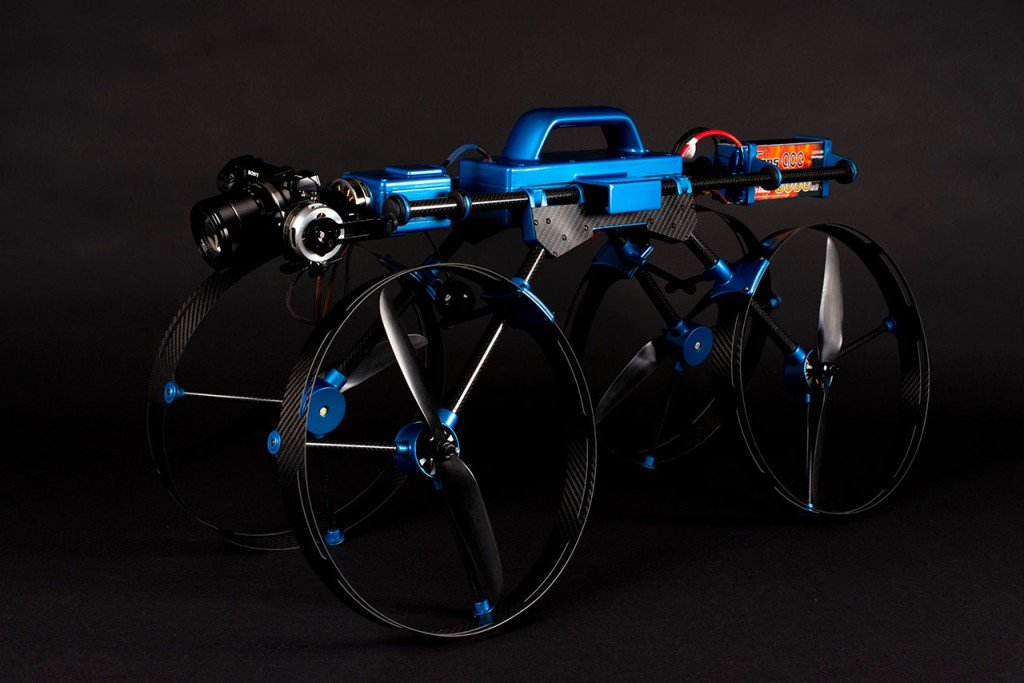 The Journalist multirotor - sUAS News - The Business of Drones
