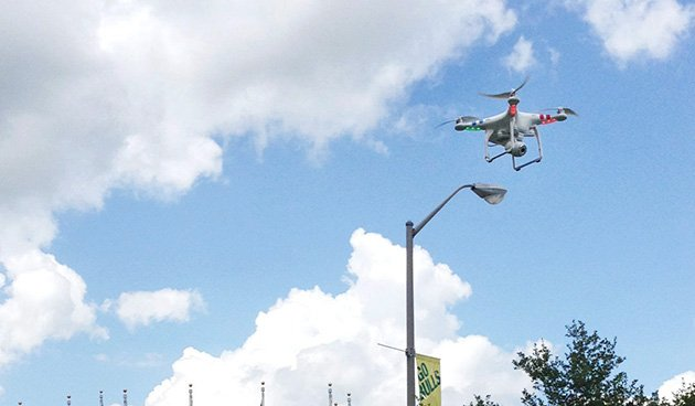 Library drone plan hits turbulence