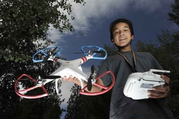 Bend boy's drone among those cited as 'emerging hazard' for forest firefighters