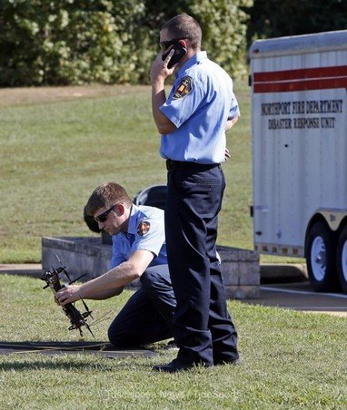 Northport Fire Rescue's new drone takes flight