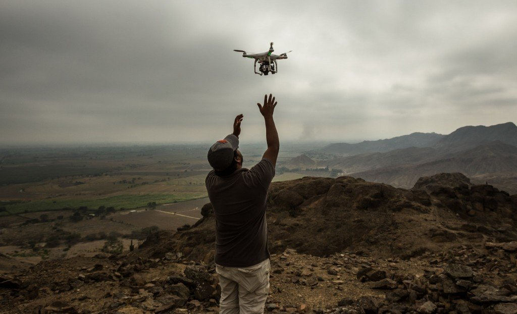 New to the Archaeologist's Tool Kit: The Drone