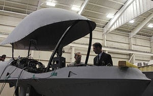 Unmanned aircraft displayed for inspector general