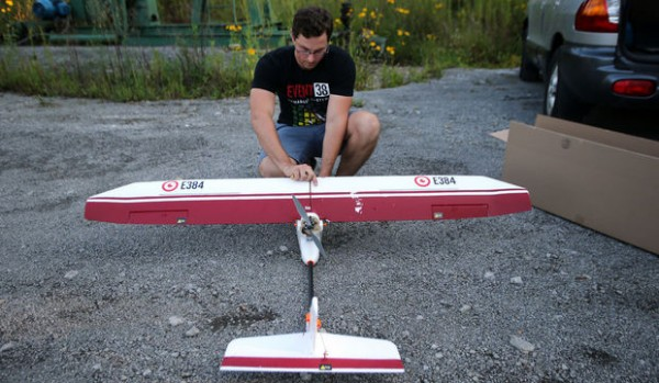 An Akron startup, Event 38, is bringing drone technology down on the farm