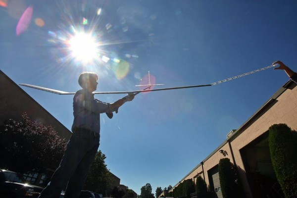 Race is on to perfect solar-powered drones