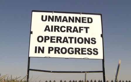 Unmanned Aircraft Systems Flying in Carrington