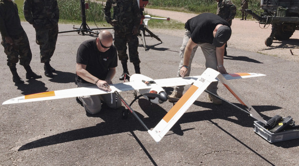 UMS Group Demonstrate UAS in Uruguay