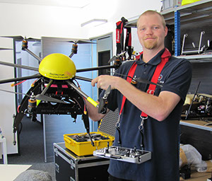 service-drone and Robotic Skies Complete Aviation-Level Maintenance Program for Multirotor Line of sUAS
