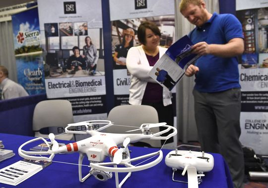 Turning little drone parts into big Reno jobs