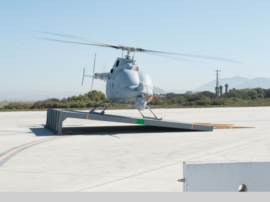US Navy's Northrop-built MQ-8C Fire Scout completes sloped landing tests