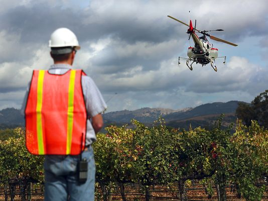 Dreams of drone-assisted farming are taking flight
