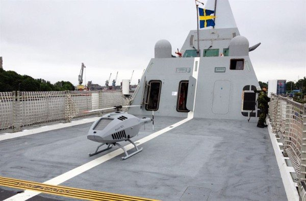 Swedish Armed Forces to test CybAero RPAS from Visby corvette