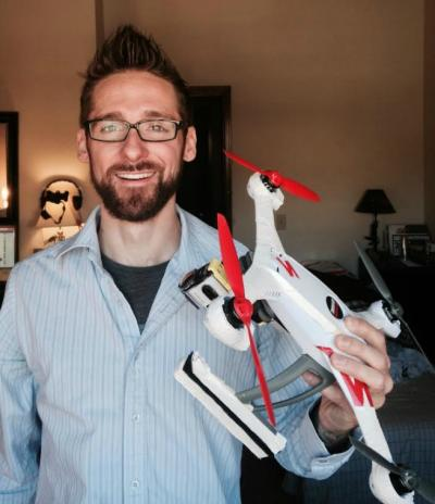 Dude, where's my drone? Louisville man seeks quadcopter that flew away