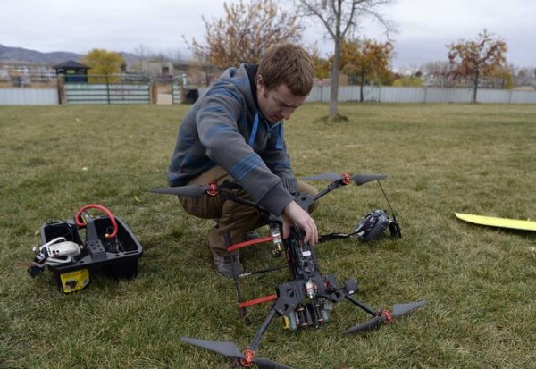 Drone flight to catch Asian condor leads to ag application at home