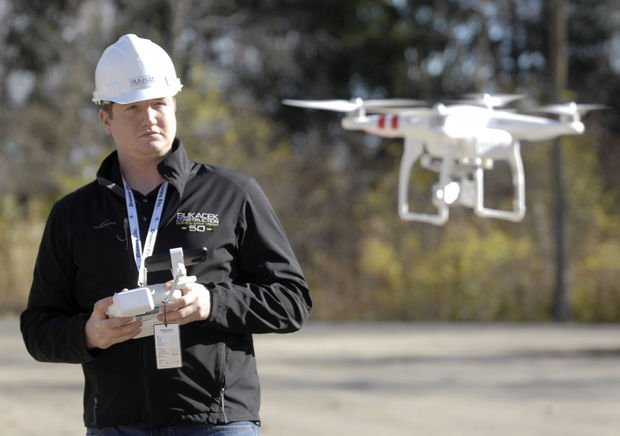 Construction company finds many uses for drone - sUAS News - The Business of Drones