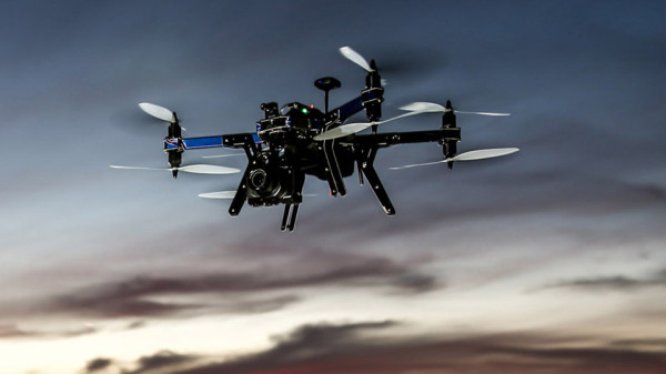 3D Robotics' new drone follows and carries a mirror-less camera