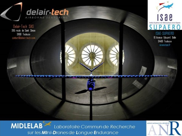 Delair-Tech & ISAE create MIDLELAB small UAV research center