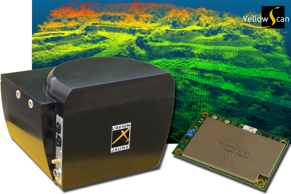 L'Avion Jaune Selects Septentrio's RTK Technology for YellowScan, an Ultra-light Standalone Laser Scanner for UAVs