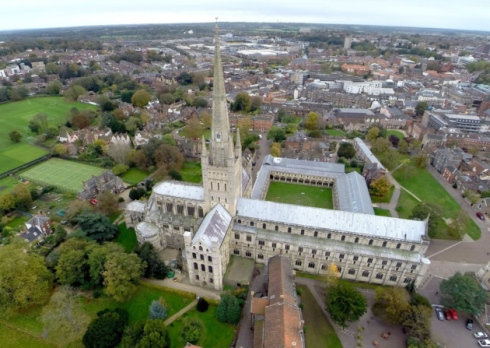 North Norfolk couple harness drone technology for high-flying business