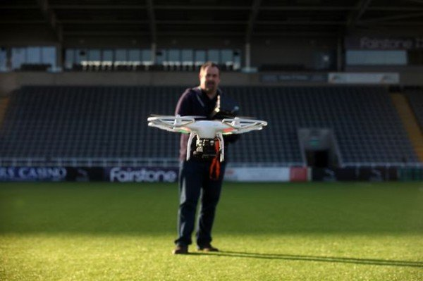 The sky's the limit for North East drone firm whose cameras have been used across globe