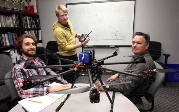 City man has high hopes for school for drone pilots