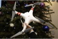 Drones given as Christmas presents