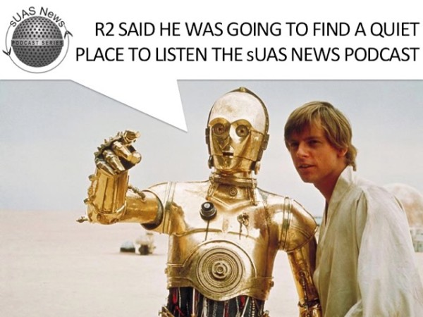 Podcast:- Super Drones by R2D2 creator