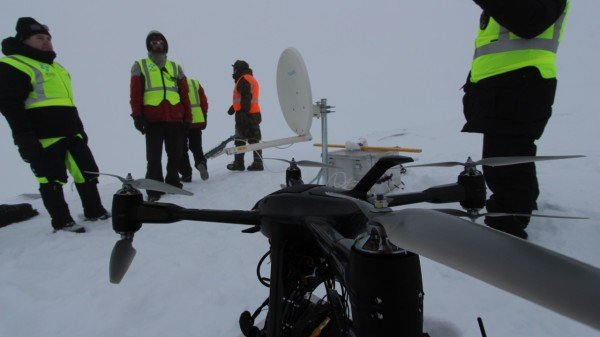 Angry winters, drones to the rescue