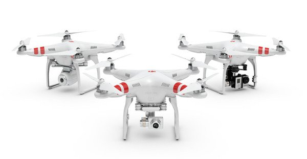 DJI has released new firmware v3.12 for Phantom 2 series quadcopter