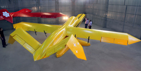 AirStrato air-robot to start the flight tests in New Mexico
