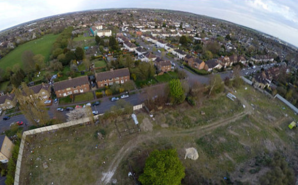 Spy drone 'caught builders working without planning permission'
