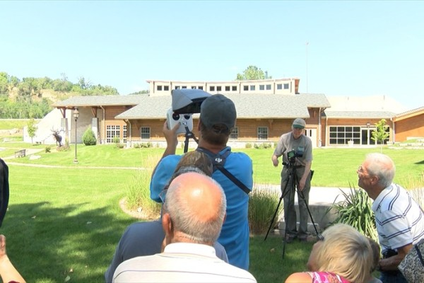 Siouxlanders Learn About Drones at Lewis & Clark Interpretive Center