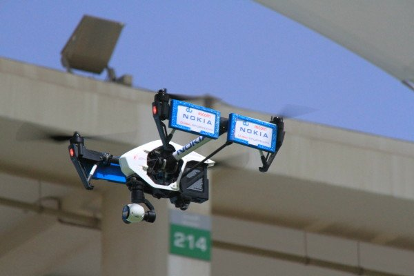 Nokia Networks, du first in UAE to use telco drones for better network planning & faster optimization
