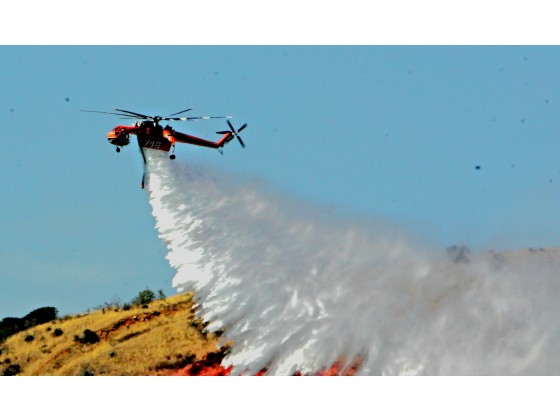MILL 2 FIRE: Drone disrupts fight against wildfire
